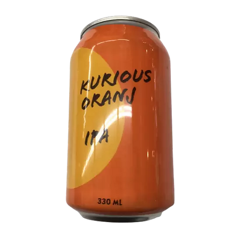 Little Thief X Damaged Goods Kurious Oranji IPA 6% Can 330mL