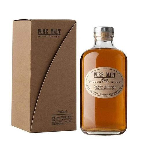 Nikka Black Pure Malt 43% Btl 500mL