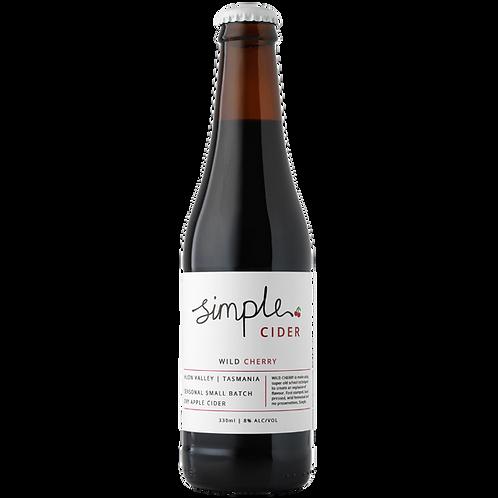 Simple Cider Wild Cherry 330mL