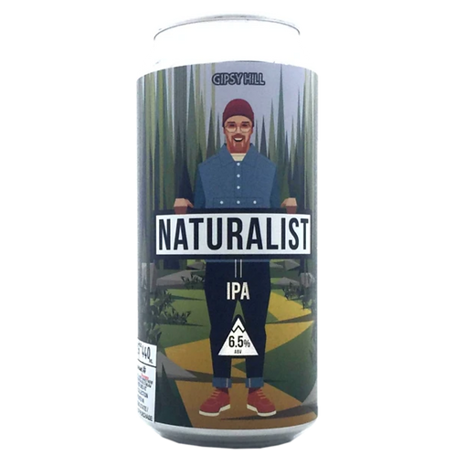 Gipsy Hill Brewing Naturalist IPA 6.5% Can 440mL