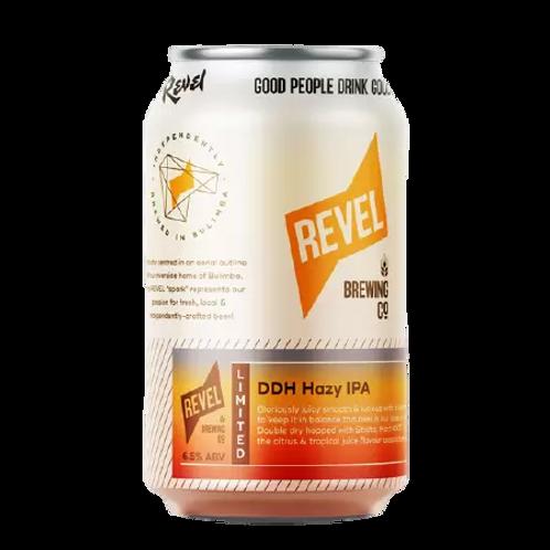 Revel Brewing Co DDH Hazy IPA 6.5% Can 375mL