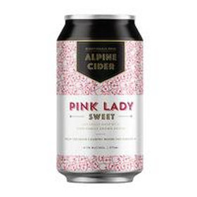 Alpine Pink Lady Sweet Cider 4.5% Can 375mL