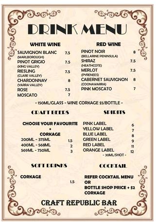 Craft republic drink menu 20210618.png