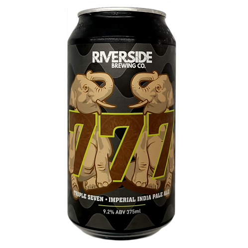 Riverside Brewing Co 777 Imperial IPA 9.2% Can 375mL