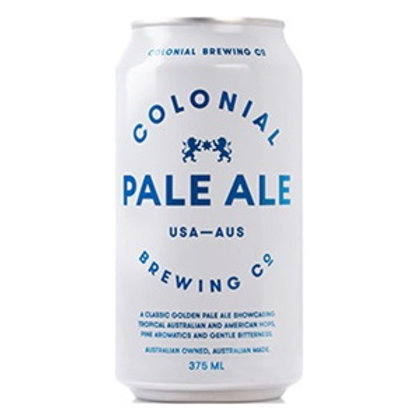 Colonial Pale Ale 4.4% Can 375mL