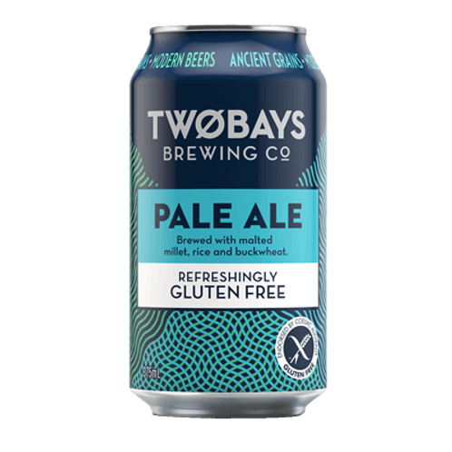 Two Bays Pale Ale Gluten Free 4.5% Can 375mL