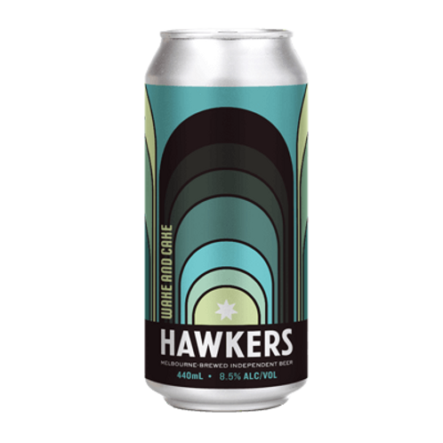 Hawkers Beer Wake & Cake Pastry Imperial Stout 8.5% Can 440mL
