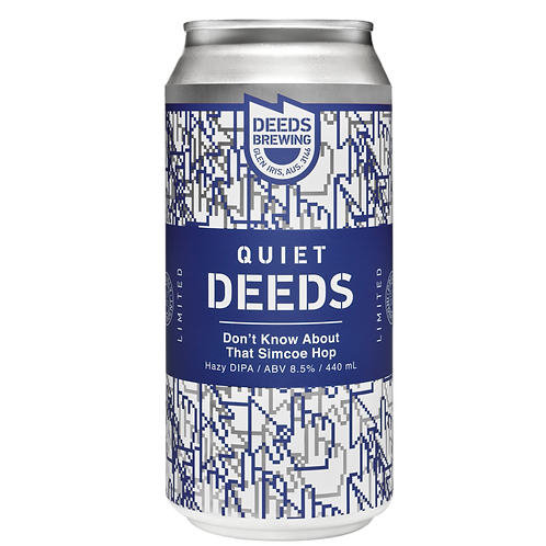 Deeds Brewing Don't Know About that Simcoe DHIPA 8.5% Can 440mL