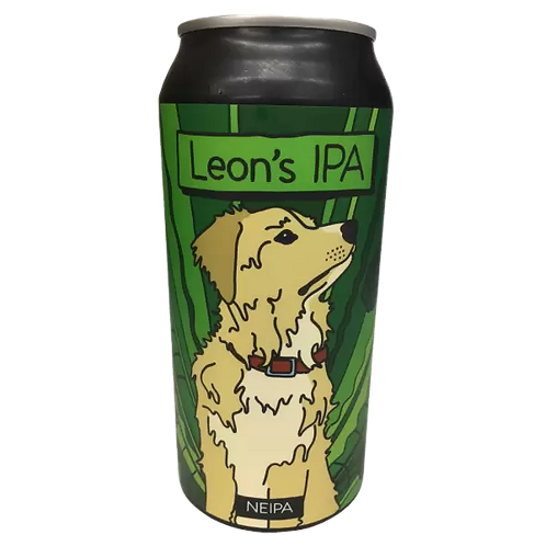 Moon Dog Leon's NEIPA 6.4% Can 440mL