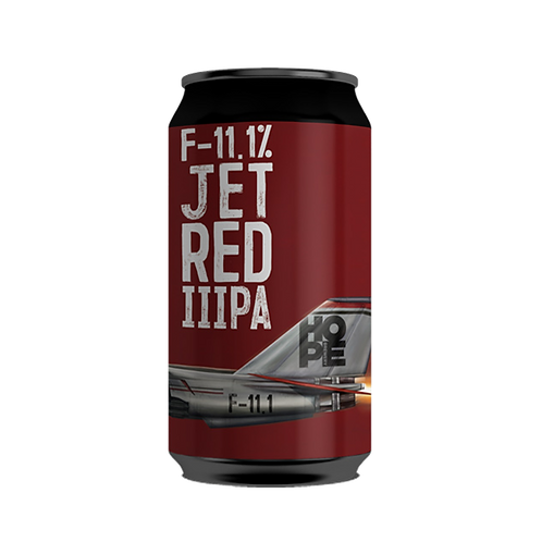 Hope Brewery F-11.1% Jet Red DIPA Can 375mL