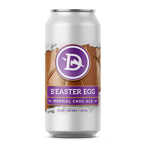 Dainton Brewery B'Easter Egg - Imperial Chocolate Ale 9% Can 440mL