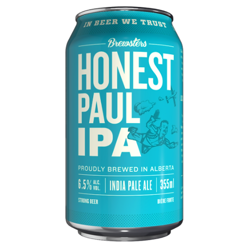 Brewsters Brewery Honest Paul IPA 6.5% Can 355mL