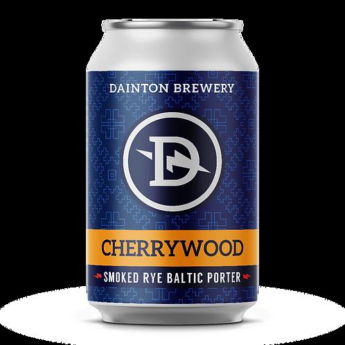 Dainton Brewery Cherrywood Smoked Rye Baltic Porter 8.8% Can 355mL