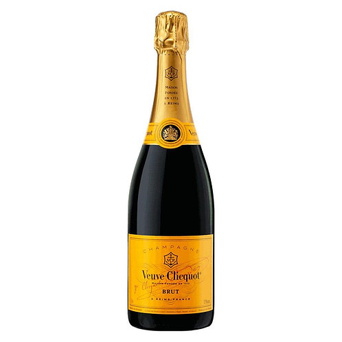 Veuve Cliquot Yellow NV Brut Champagne Btl 750mL