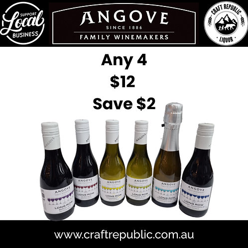 Angove Long Row Wines 187mL/ 200mL 4Pack