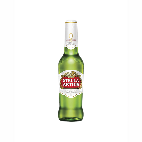 Stella Artois Lager 5% Btl 330mL