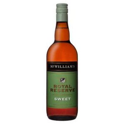 McWilliams Royal Reserve Sweet Apera Btl 750mL