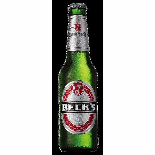 Becks Fully Imported Bier 5% Btl 330mL