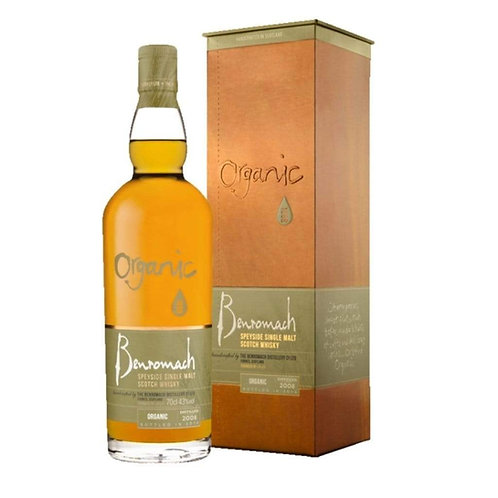 Benromach Organic Single Malt Scotch Whisky 43% 700mL