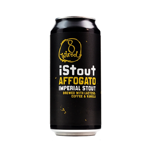 8 Wired i Stout Affogato Imperial Stout 10% Can 440mL