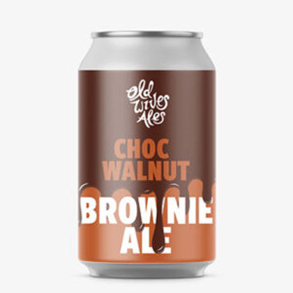 Old Wives Ales Choc Walnut Brownie Ale 6% Can 375mL