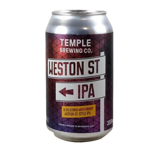 Temple Brewing Weston St IPA 7.4% Can 375mL