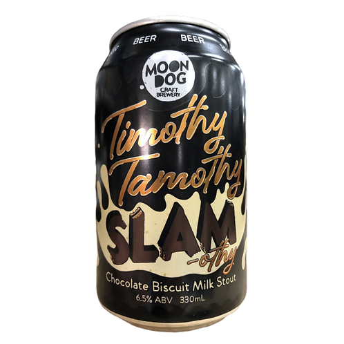 Moon Dog Timothy Tamothy Chocolate Biscuit Milk Stout 6.5% Can 330mL