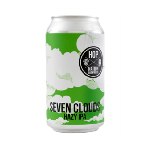 Hop Nation 7 Clouds Hazy IPA 6.3% Can 375mL