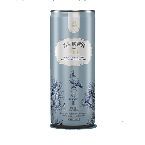 Lyre's Alcohol Free Gin & Tonic Cans 250mL