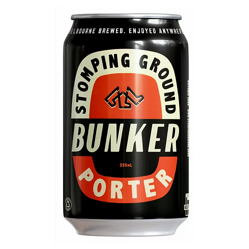 Stomping Ground Bunker Porter 6.2% Can 355mL