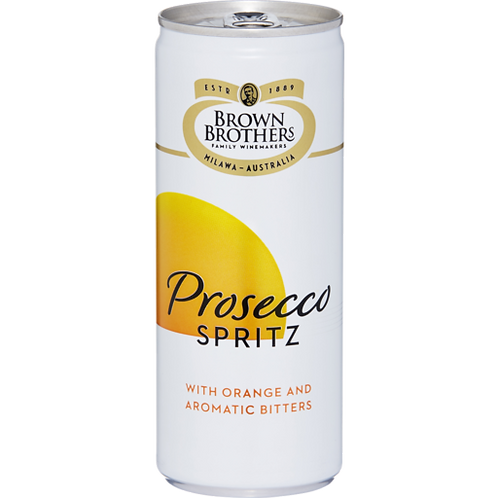 Brown Brothers Prosecco Spritz 8.5% Can 250mL