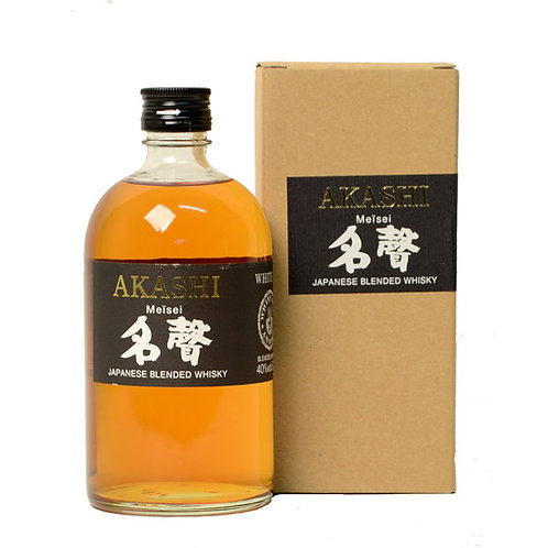 White Oak Distillery Akashi Meisei Whisky 40% Btl 500mL