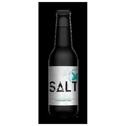 Salt Brewing Co Salt Custom Shaped Lager 4.5% Btl 330mL
