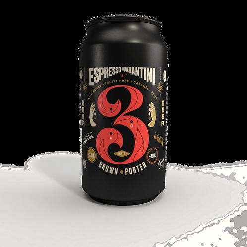 3 Ravens Espresso Quarantini Brown Porter 4% Can 440mL