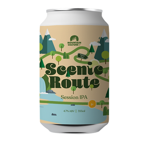 Mountain Culture Scenic Route Session IPA 4.9% Can 355mL