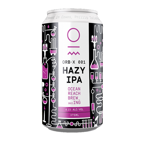 Ocean Reach Brewing ORB-X 001 Hazy Ipa 6.1% Can 375mL