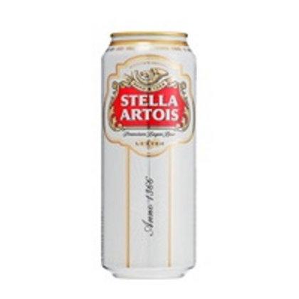 Stella Artois Premium Lager 4.8% Can 500mL