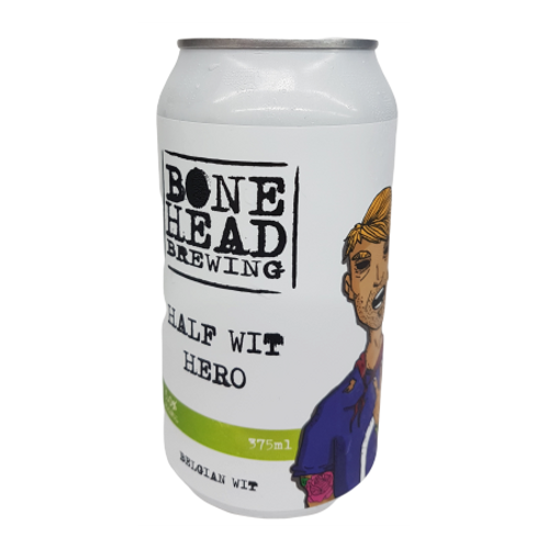Bonehead Brewing Half Wit Hero 5% Can 375mL