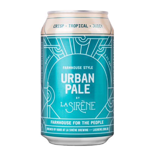 La Sirene Urban Pale Ale 5.2% Can 330mL