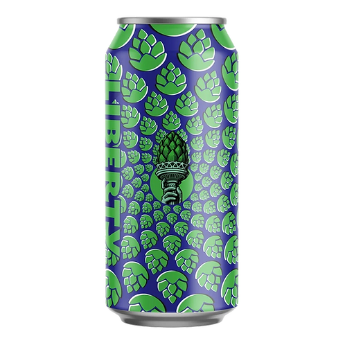 Liberty Brewing Co Hoptical Illusion DIPA 8% Can 440mL