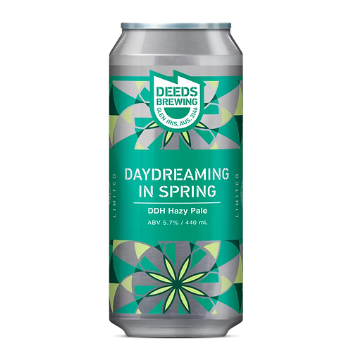 Deeds Brewing Daydreaming in Spring DDH Hazy Pale 5.7% Can 440mL