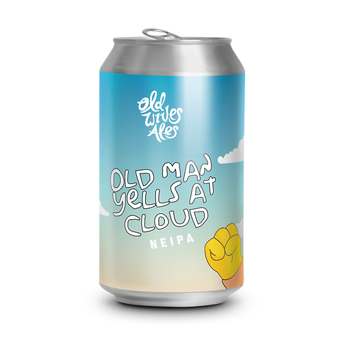 Old Wives Ales Old Man Yells at Clouds NEIPA 6.5% Can 375mL