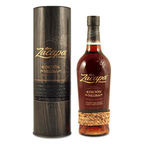 Zacapa Edicion Negra Rum 43% 1LT