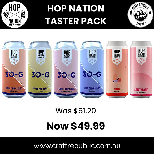 Hop Nation The Taster 6 Pack Can 440mL