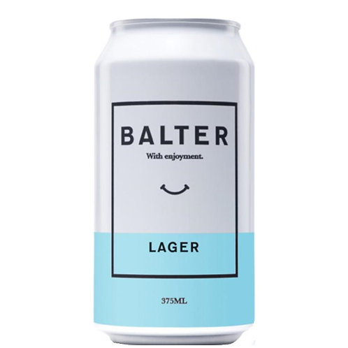 Balter Brewery Lager 4.6% Can 375mL