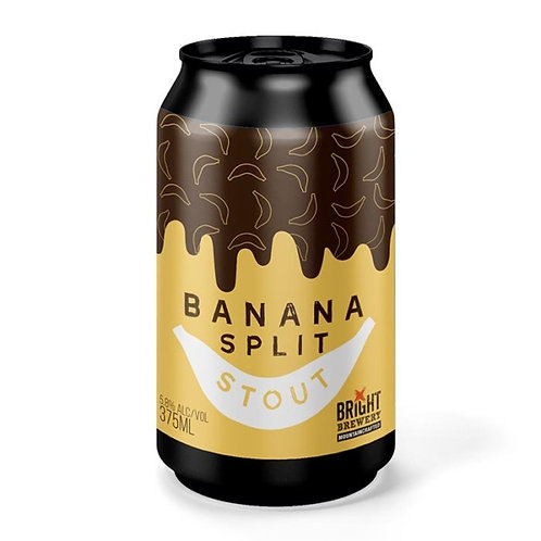 Bright Brewery Banana Split Stout 5.8% Can 375mL
