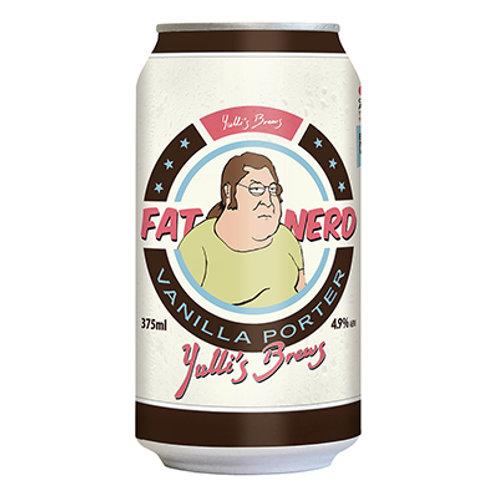 Yulli's Brews Fat Nerd Vanilla Porter Can 375mL