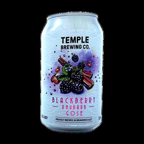 Temple Gose Blackberry & Rhubarb 4.2% Can 355mL