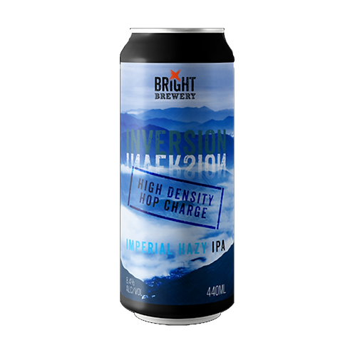 Bright Brewery Inversion Imperial Hazy IPA 8.4% Can 440mL