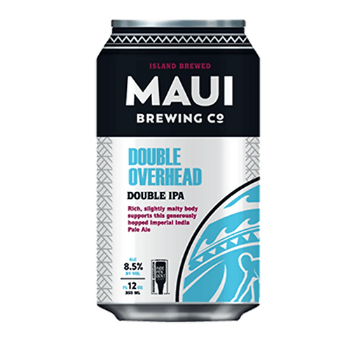 Maui Brewing Co Double Overhead DIPA 8.5% Can 355mL